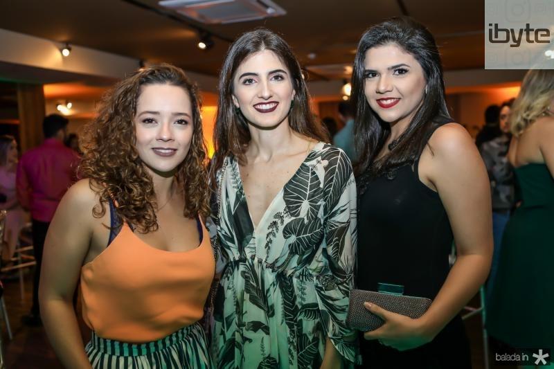 Lara Magalhaes, Katherine Nunes e Jamile Melo