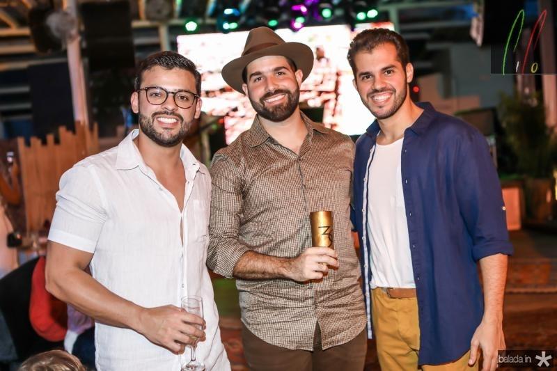 George Gomes, Felipe Rocha e Mario Bezerra