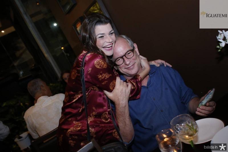 Livia Albuquerque e Ciro Gomes