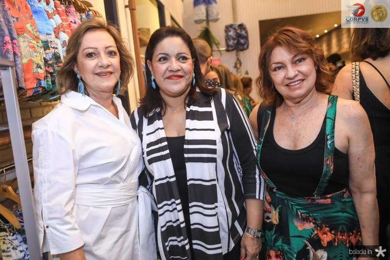 Tania Teixeira, Tereza Serpa e Uelbaneide Luna
