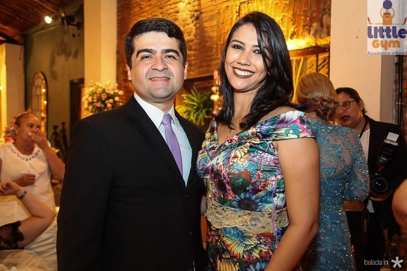 Max Cardoso e Mirla Pinto