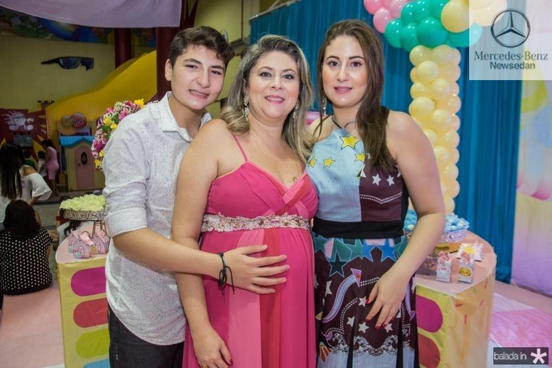 Enio Filho, Liana e Juliana Aragao