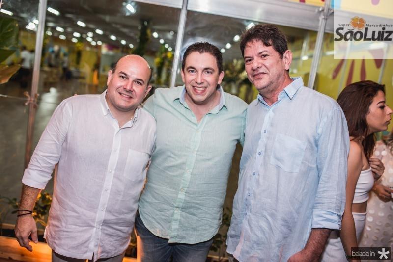 Roberto Claudio, Rodrigo Pereira e Cid Gomes
