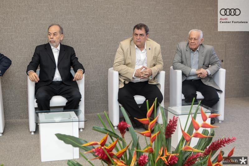 Inacio Arruda, Paulo Cesar Resende e Flavio Saboia