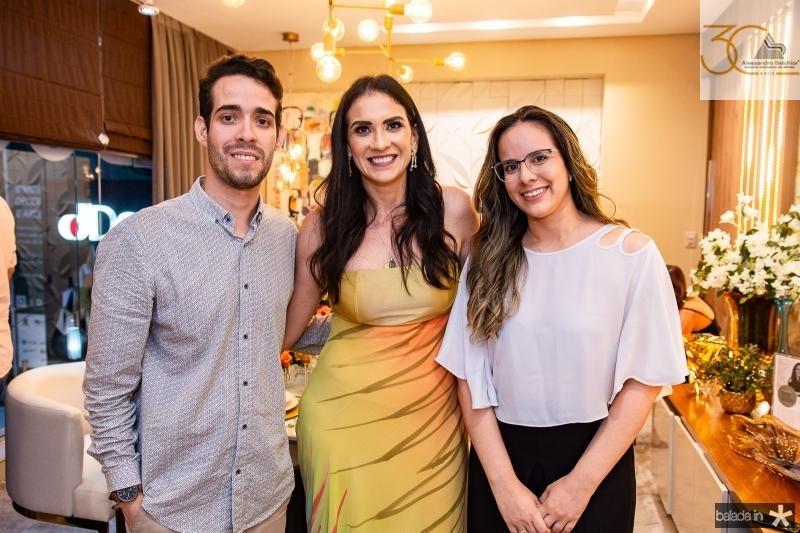 Pedro Paulo Rolim, Luciana Carioca e Luara Ciarlini