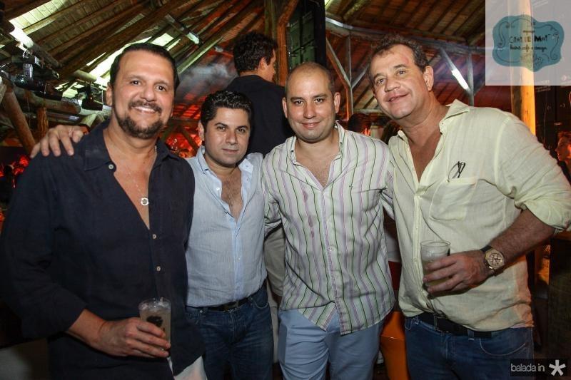 Adrisio Camara, Pompeu Vasconcelos, Andre Linheiro e Ricardo Nibon