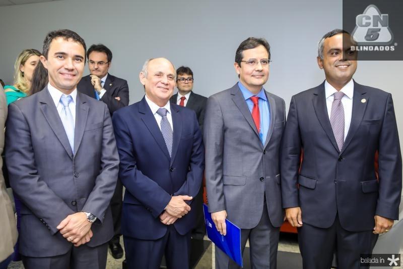 Placido Rios, Gladyson Pontes, Edilberto Pontes e  Marcelo Mota