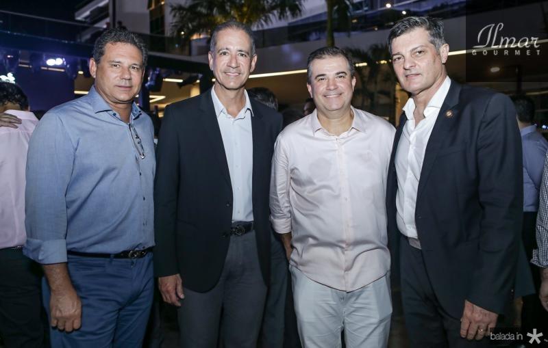 Marcus e Regis Medeiros, Ricardo Bezerra e Cid Marconi