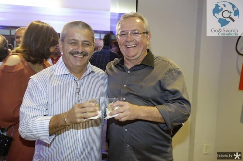 Emilio Studart e Paulo Coelho