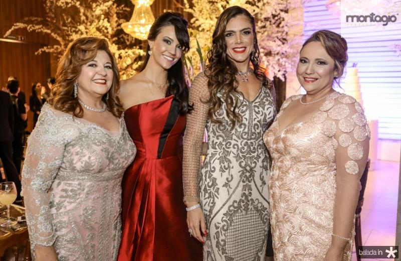 Jaqueline Simos, Stefania Cartaxo, Beatriz Otoch e Cristina Cartaxo