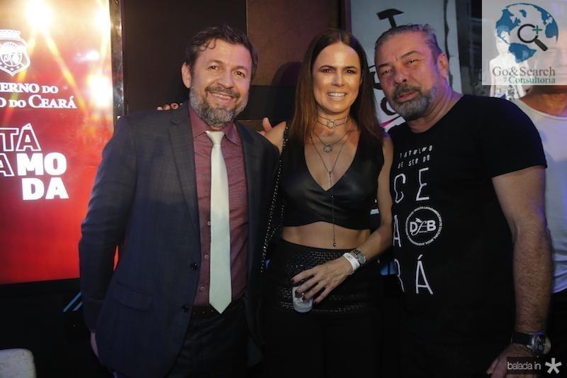 Elcio Batista, Luciana Souza e Claudio Silveira