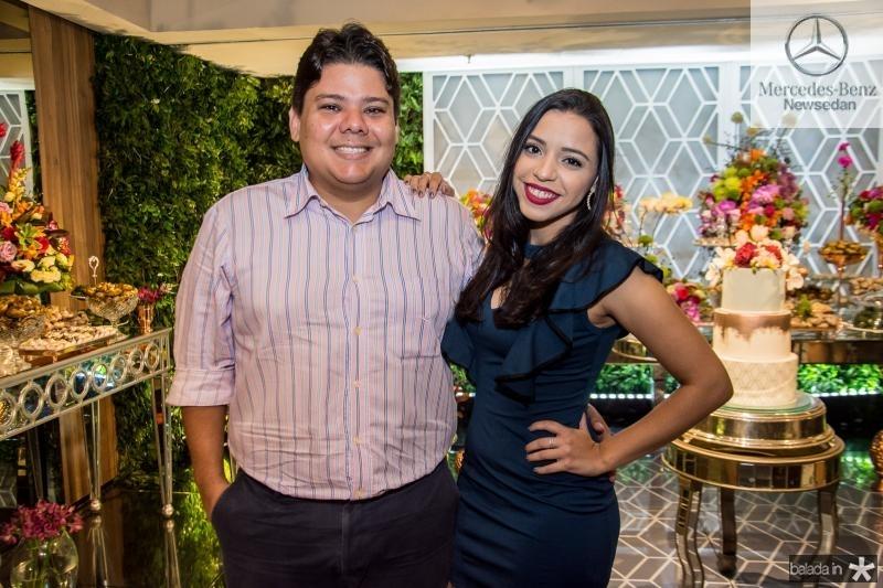 Pedro e Sabrina Sobral