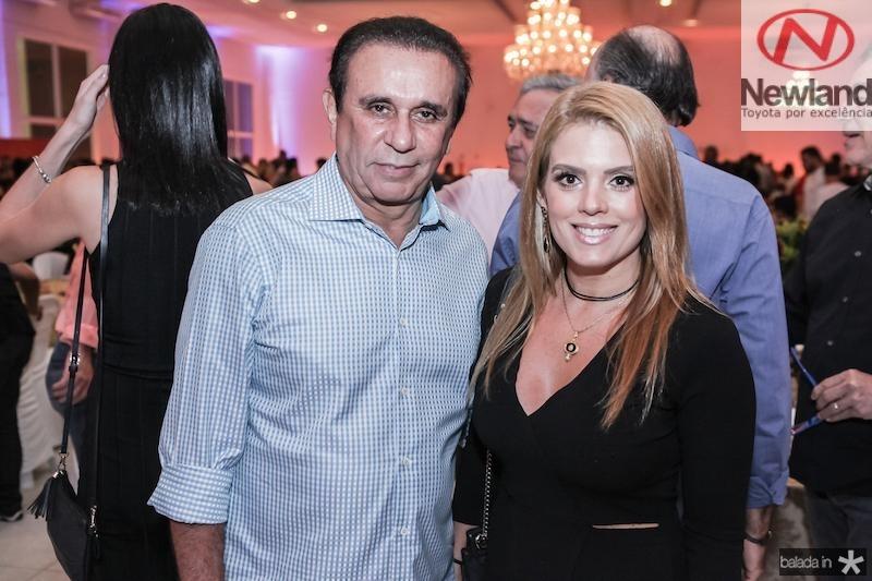 Gaudencio Lucena e Leticia Studart