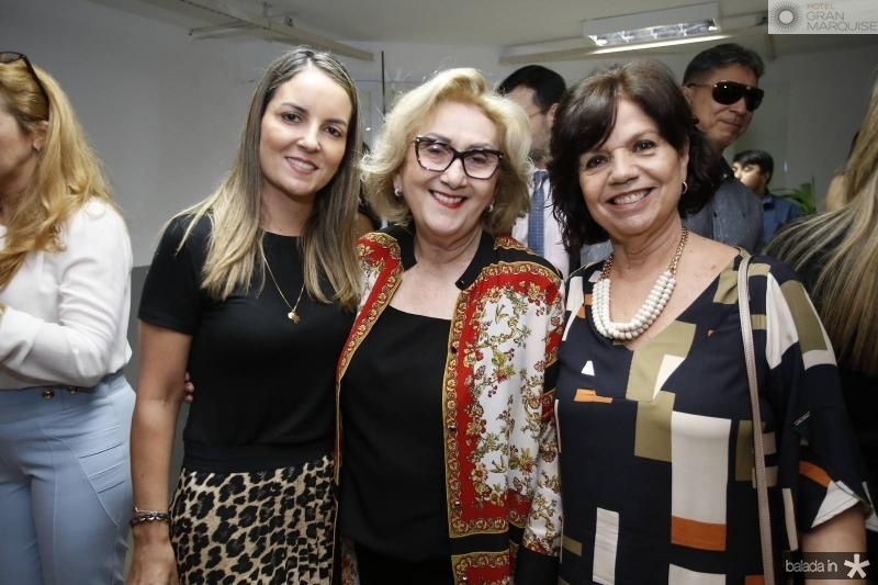 Raquel Vasconcelos, Socorro Franca e Candida Torres de Melo