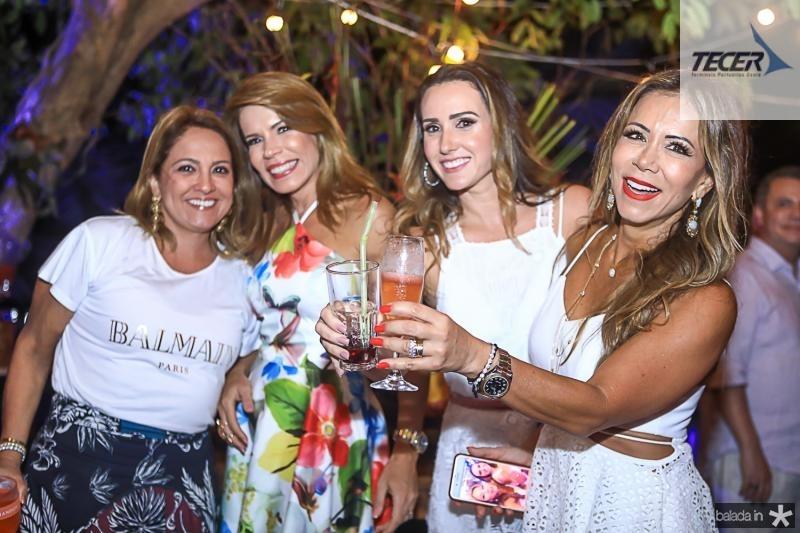 Liana Thomaz, Maira Silva, Roberta Nogueira e Sakie Brooks