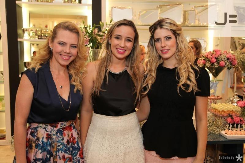 Branca Mourão, Vladia Borela e Raquel Macêdo