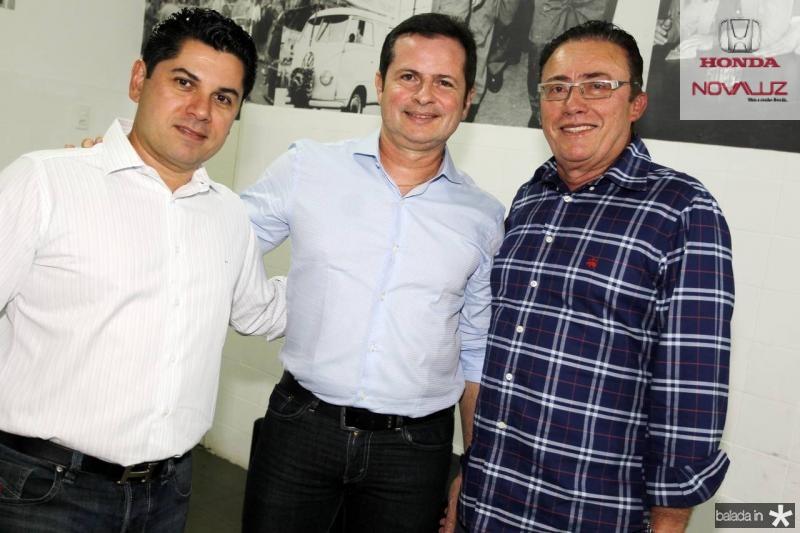 Pompeu Vasconcelos, Marcos Andre Borges e Darlan Leite