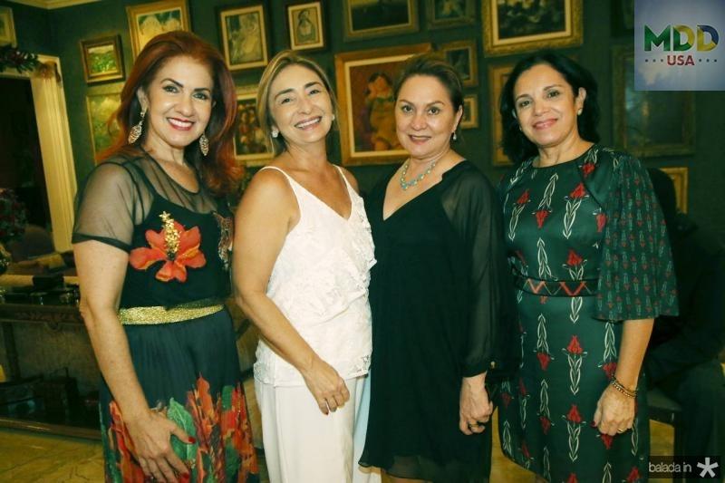 Bianca Tavares, Sandra Dias, Paula Frota e Elusa Laprovitera