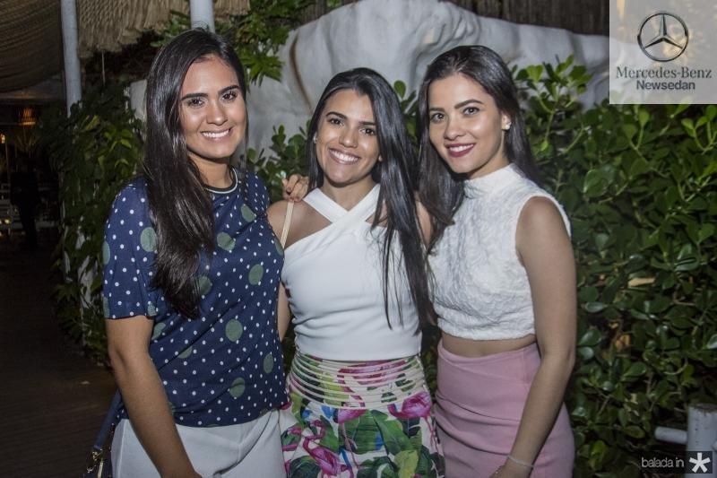 Lorena Vitor, Thaynara Aguiar e Lirian Nagila