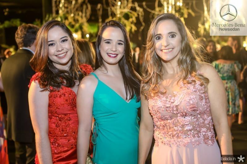Mariana Estrela, Karina Vasconcelos e Adriane Aguiar