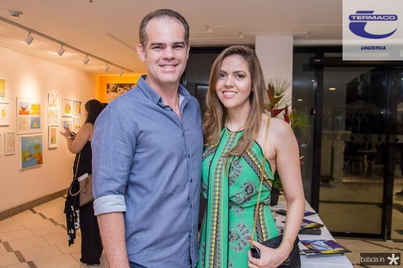 Celio Gurgel e Fabiana Lustosa
