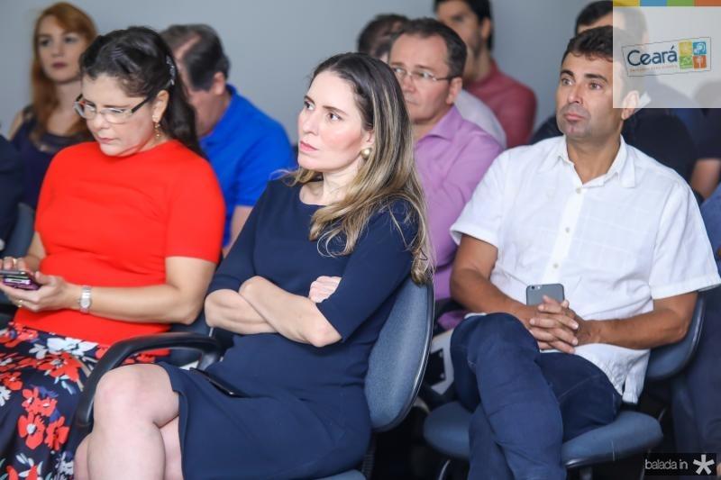 Rogestiane Nobre, Agueda Muniz e Marcos Novais