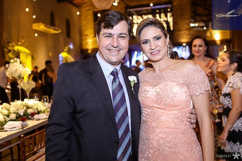Marcelo e Viviane Gandia