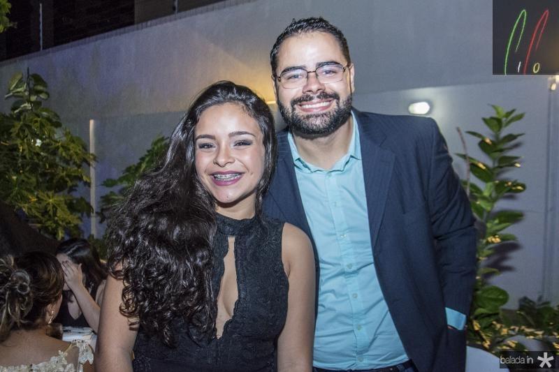 Nathale Oliveira e Eduardo Alencar