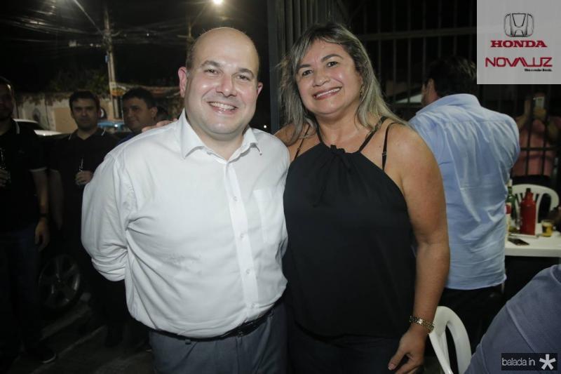 Roberto Claudio e Luiza de Marilac Queiroz