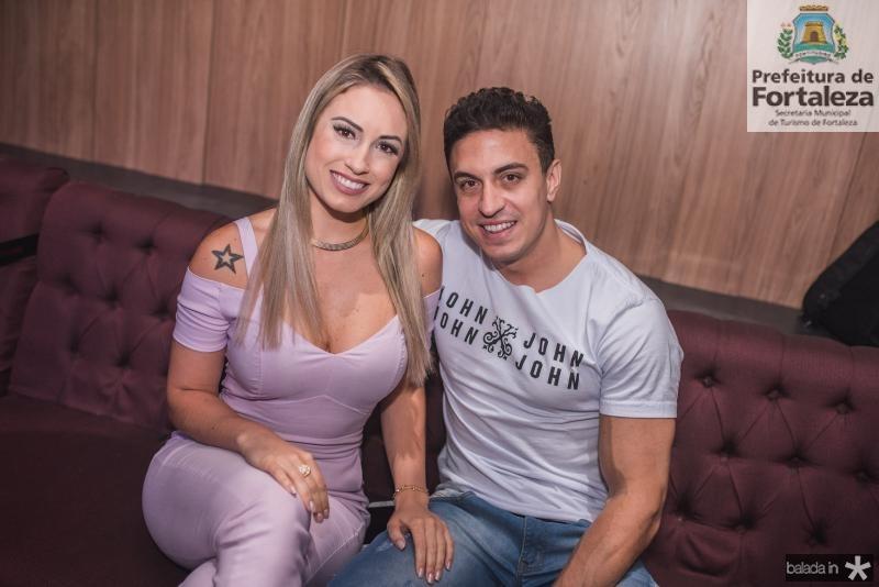 Jéssica Mueller e Flávio Ribeiro