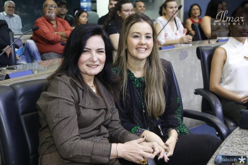 Ieda Cavalcante e Liana Fujita