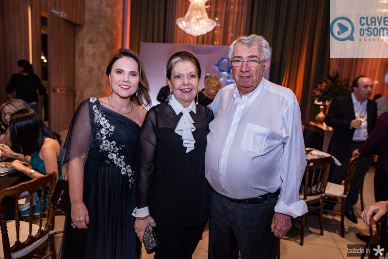 Gyna Juca, Tania e Roberto Macedo