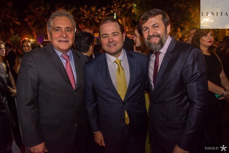 Luis Pontes, Otavio Queiroz e Elcio Batista