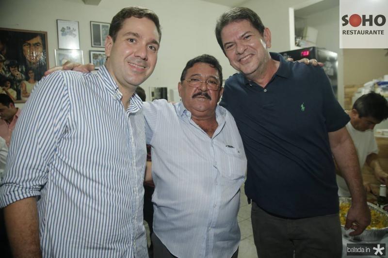 Eduardo Bismarck, Aurize Maia e Cid Gomes
