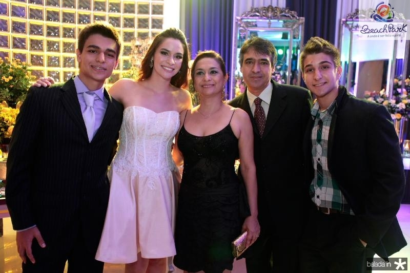 Messias Araujo,Carol Albuquerque,Ana Angelica,Massias e  Raul Araujo