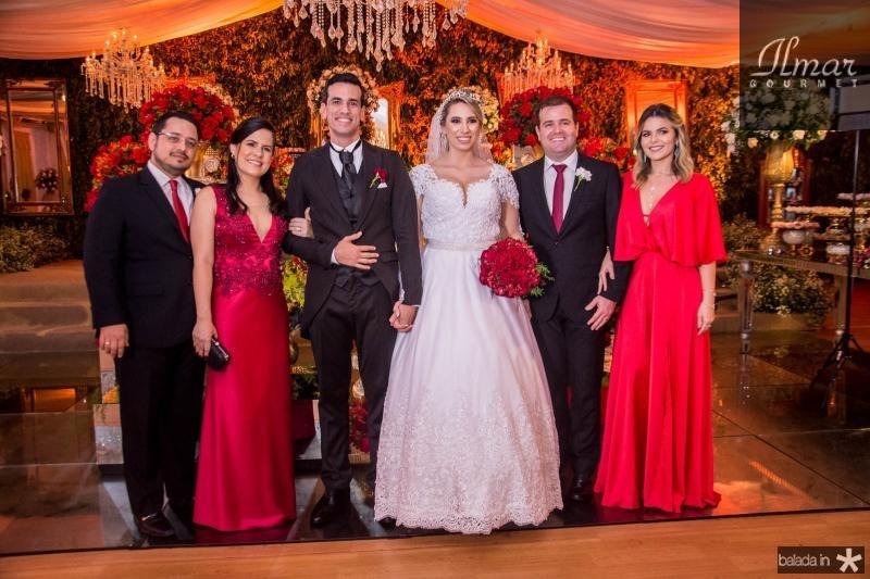 Ricardo Valente Filho, Daniela Valente,  Antonio Airton Pontes, Jessica Dartora, Rafael Siqueira e Lilianne Veloso