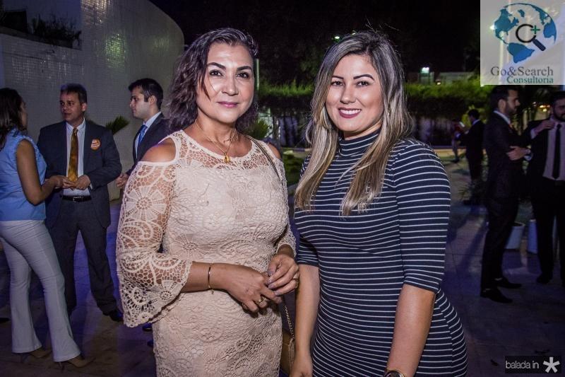 Debora Lima e Vanessa Araujo