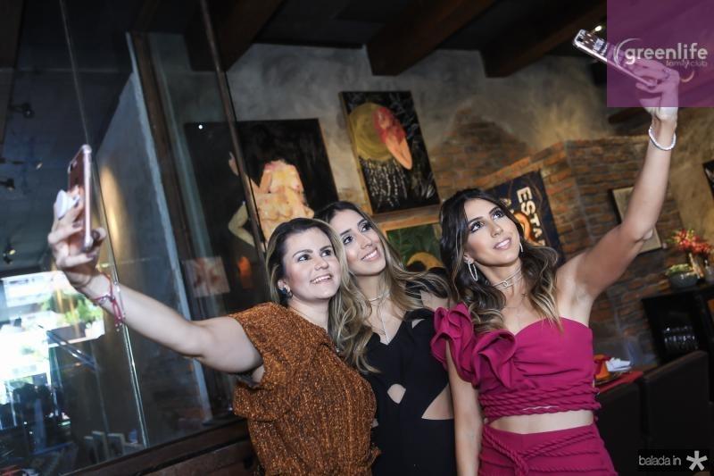 Carine Moreira, Natalia Ximenes e Taira Romcy