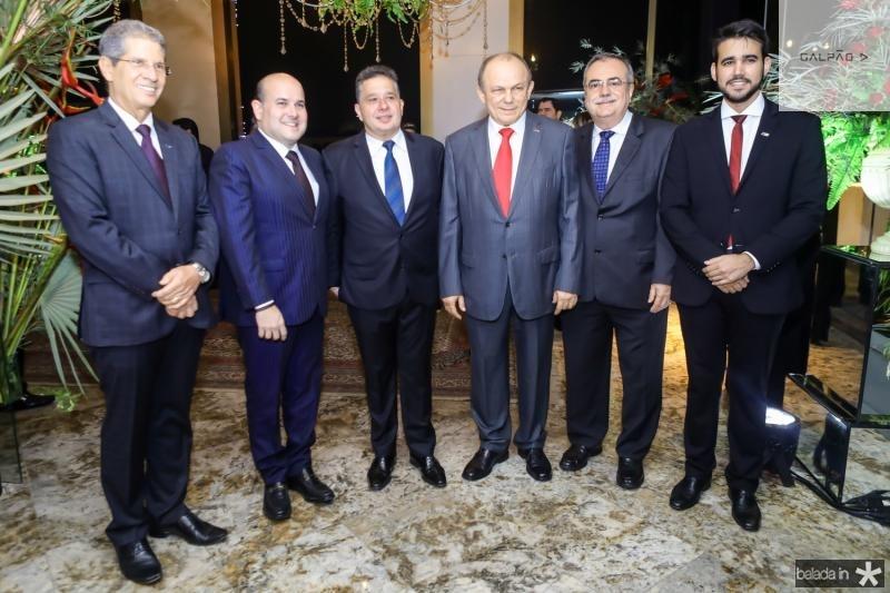 Ramalho Neto, Roberto Claudio, Gerardo Bastos Filho, Honorio Pinheiro, Assis Cavalcante e Cabral Neto