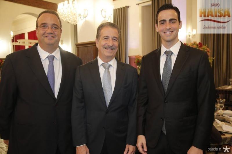 Sergio Jereissati, Emilio e Emilio Ary Neto