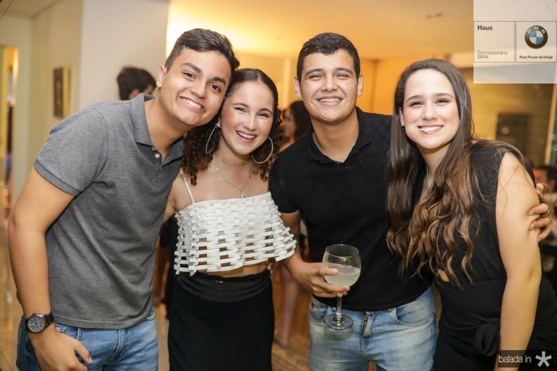 Luis Pacheco, Beatriz Bezerra, Alvaro Girao e Paula Menezes
