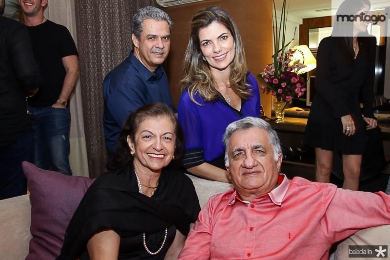 Vicente e Ines de Castro, Ines e Sergio Benevides