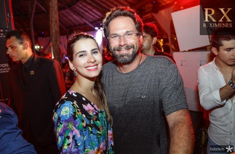 Rayssa Carvalho e Luis Antonio Valadares