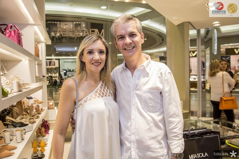 Andressa Mendes e Claudio Brito