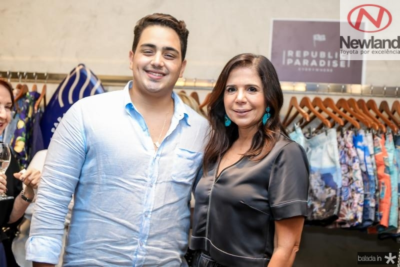 Rafael Pinto e Maria Lucia Negrao