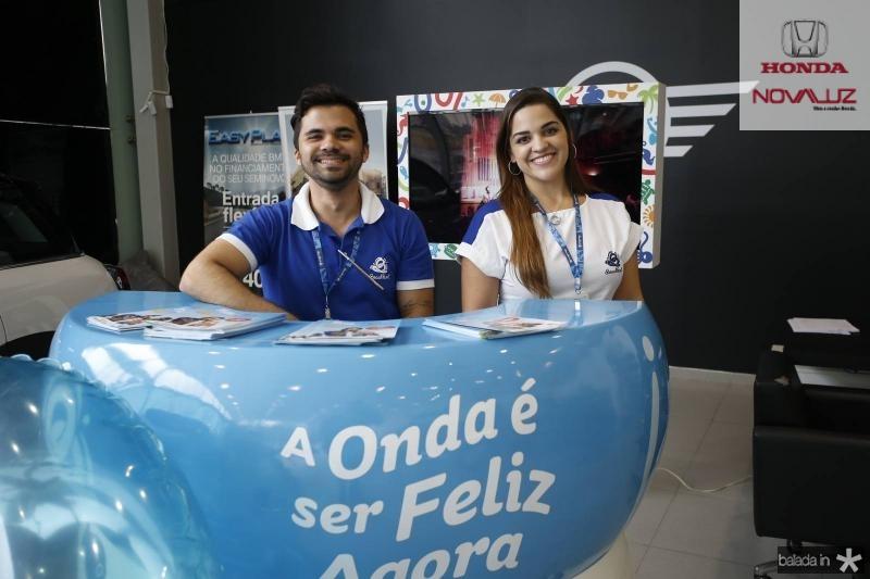 Victor Mendes e Sara Rosita