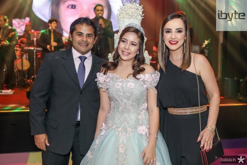 Alfredo Savio, Juliana Jaco e Kaline Ferraz