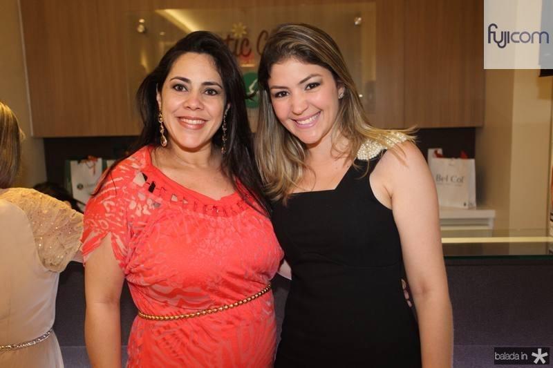 Vera Lucia e Vanessa Queiroz