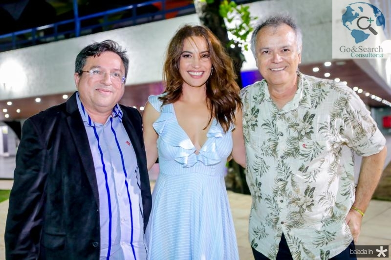 Rubens Tadeu, Laura Ramos e Wouney Oliveira