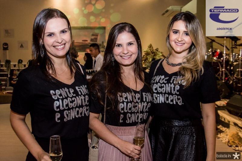 Marilia Gomes, Bruna Morais e Jessica Aguiar